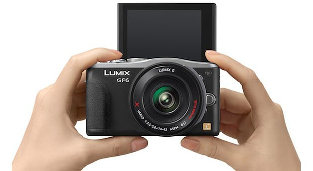 Panasonic's 16megapixel Lumix DMCGF6 official with wireless sharing, flip screen