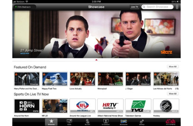 DNP Dish Anywhere for iPad updated with new remote reset and Audio Only