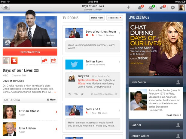 Zeebox update adds 'replay tweets' feature, brings time-delayed social commentary
