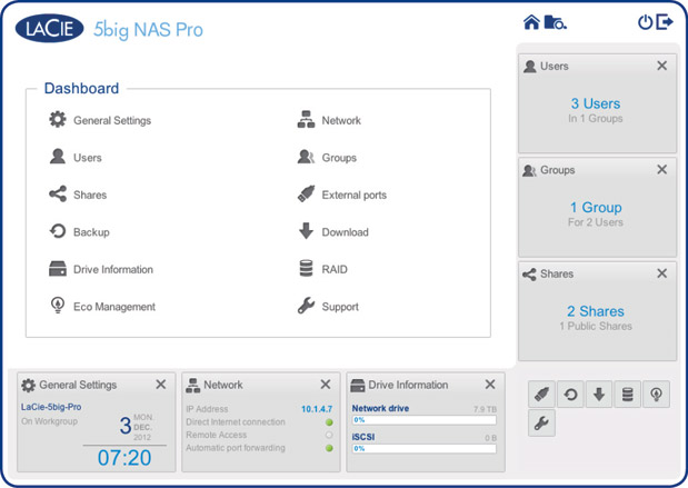 LaCie's updated NAS OS 3 software boosts RAID write speeds, expands hybrid cloud capabilities