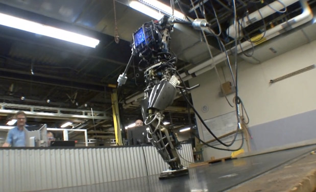 DARPA's Atlas robot doesn't care if the sky falls, will be taught to save you if it does