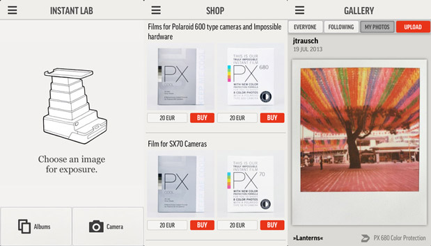 DNP The Impossible Project launches iOS app ahead of the Instant Lab's debut