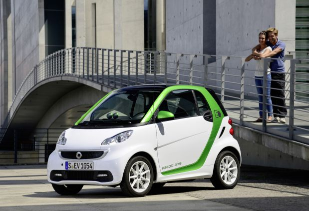 DNP Smart's Fortwo electric leasing for $139 month,