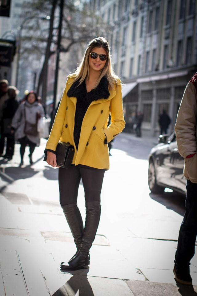 Look do dia: preto e amarelo | Blog da Alice Ferraz