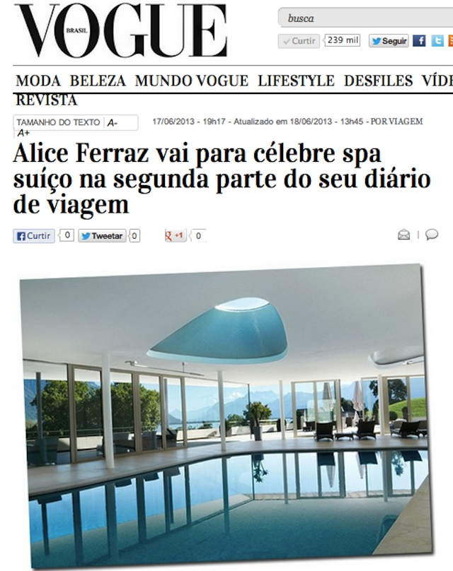 Spa day na Suíça | Blog da Alice Ferraz