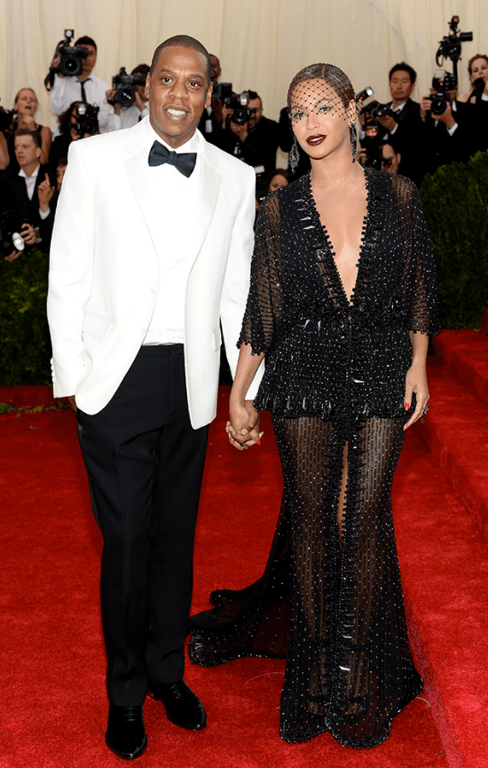 Jay-Z e Beyonce in Givenchy Haute Couture