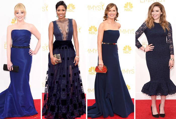 5 tons de azul. Melissa Rauch, Alicia Quarles, Kim Dickens e Natasha Lyonne