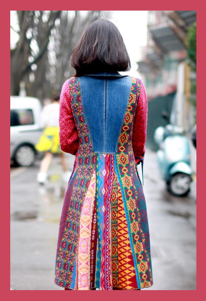 foto alice casaco etnico