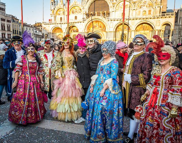 Carnaval de Veneza | Foto: Sergey Galyonkin, via Flickr