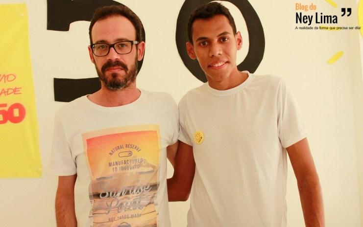 Rodolfo Aragão e Alisson Oliveira