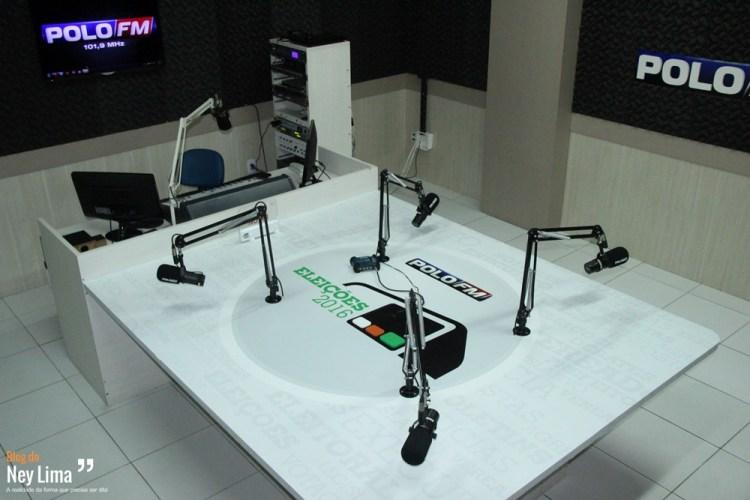 Mesa Polo FM Entrevistas Eleições 2016