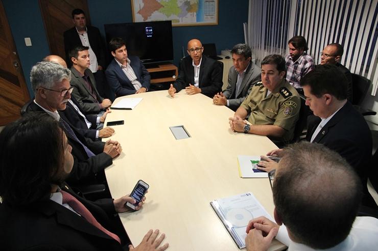 Além da segurança nos principais acessos ao Polo de Confecções, haverá intervenções na área urbana de Santa Cruz do Capibaribe.