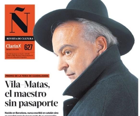 portada Ñ, Clarin, Buenos Aires 3 octubre 2015