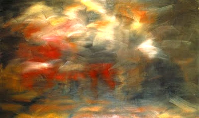 Richter. Annunciation after Titian. 1973. 2