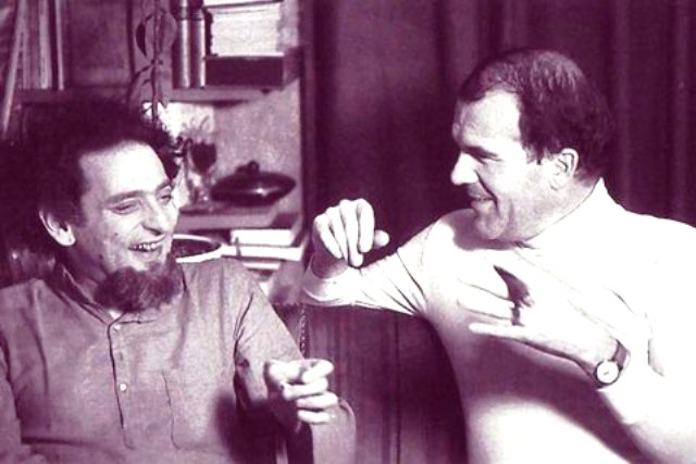 Perec y Harry Mathews, París, 1974