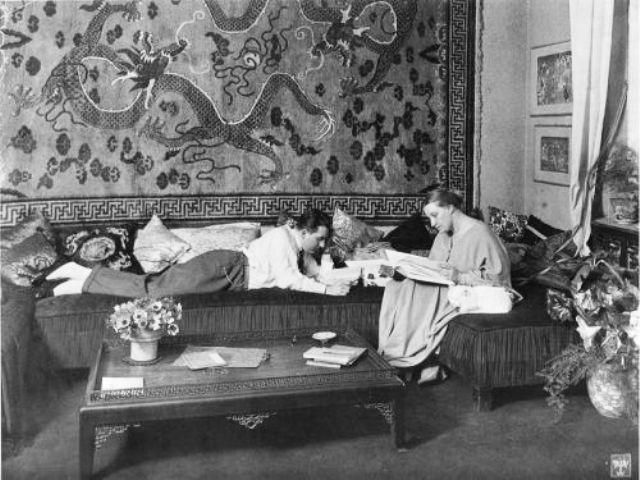 Fritz Lang y Thea von Harbou