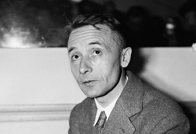 Julien Gracq turned against French literary circles and rejected the Goncourt Prize, for which he had been chosen  for ÒLe Rivage des SyrtesÓ (ÒThe Opposite ShoreÓ), his best-known novel. Paris, FRANCE - 8/12/1951. Julien Gracq, French writer known for Surrealism and solitude and for having turned down France's top literary prize, died on Saturday 23 in Angers, France. He was 97. Born on July 27, 1910, in St.-Florent-le-Vieil, in the Loire region of France. He lived there until just before his death.