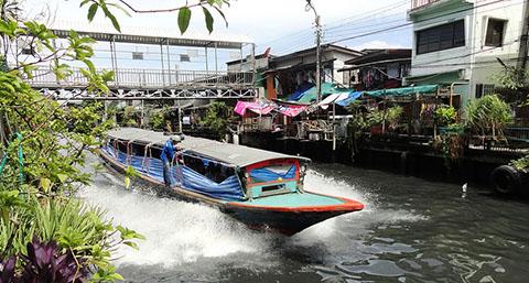 Klong tour Bangkok