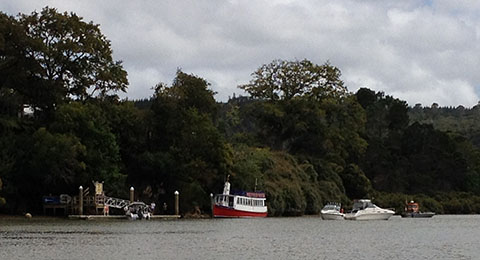 Riverhead jetty