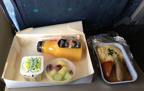 RNZAF breakfast