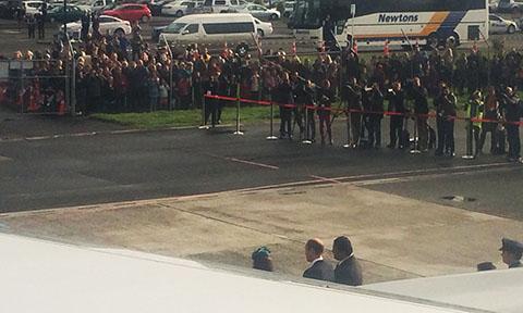 Dunedin Royal welcome