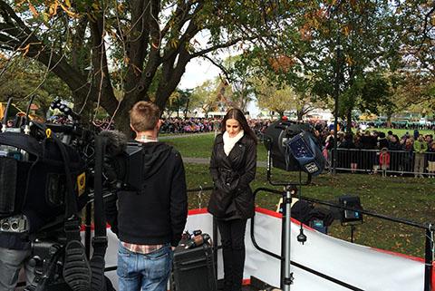 Christchurch royal day