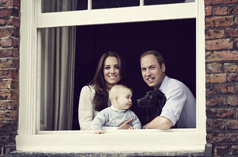 Wills, Kate and George