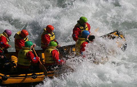 white water rafting Rangitata
