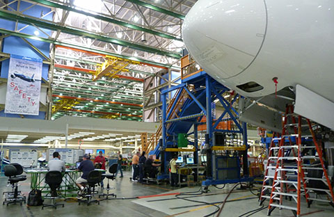 Boeing Factory office