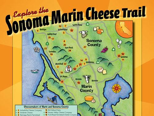 Sonoma cheese trail