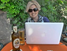 Blogging on the road