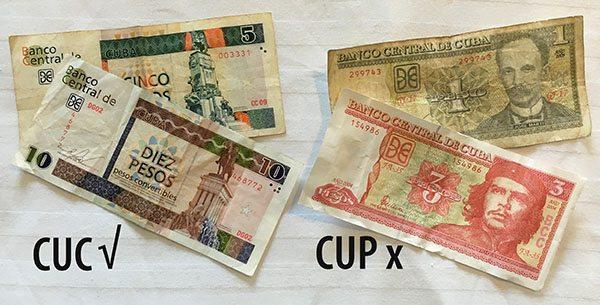 Cuban currency