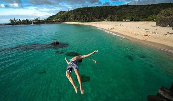 Waimea Beach Oahu Hawaii