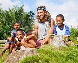 Jackson and kids