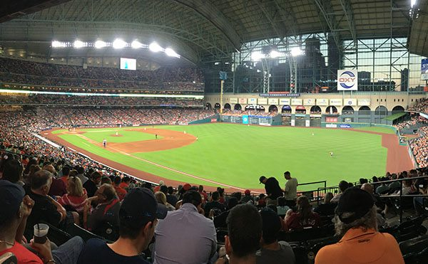 Astros home ground