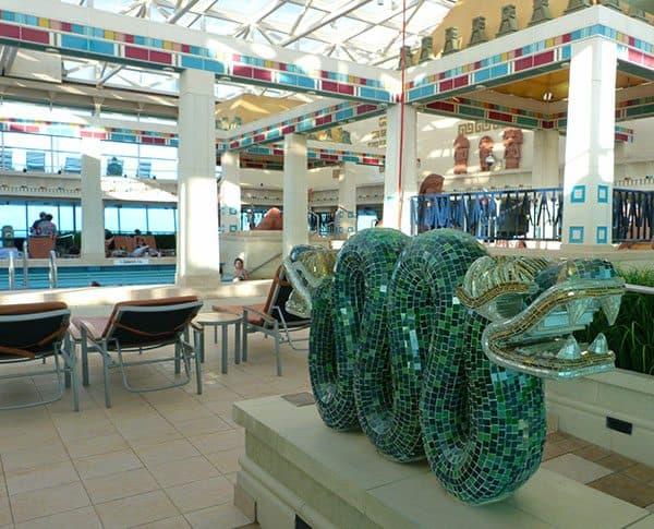 Vision of the Seas indoor pool