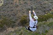 Zip lining Catalina