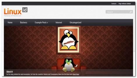 Free WordPress Theme 2013 - LinuxID