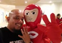 Blogger Borneo and Mr Smartphone