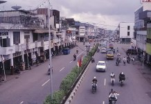 Kawasan Jalan Tanjungpura Pontianak