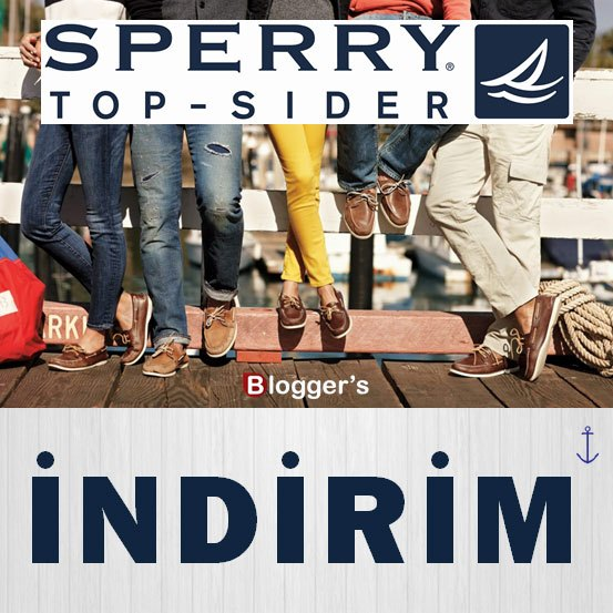 SPERRY TOP-SIDER İNDİRİM