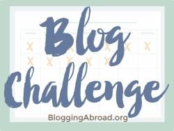 Blog Challenge 2016