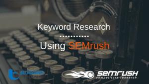 SEMrush Keyword Research
