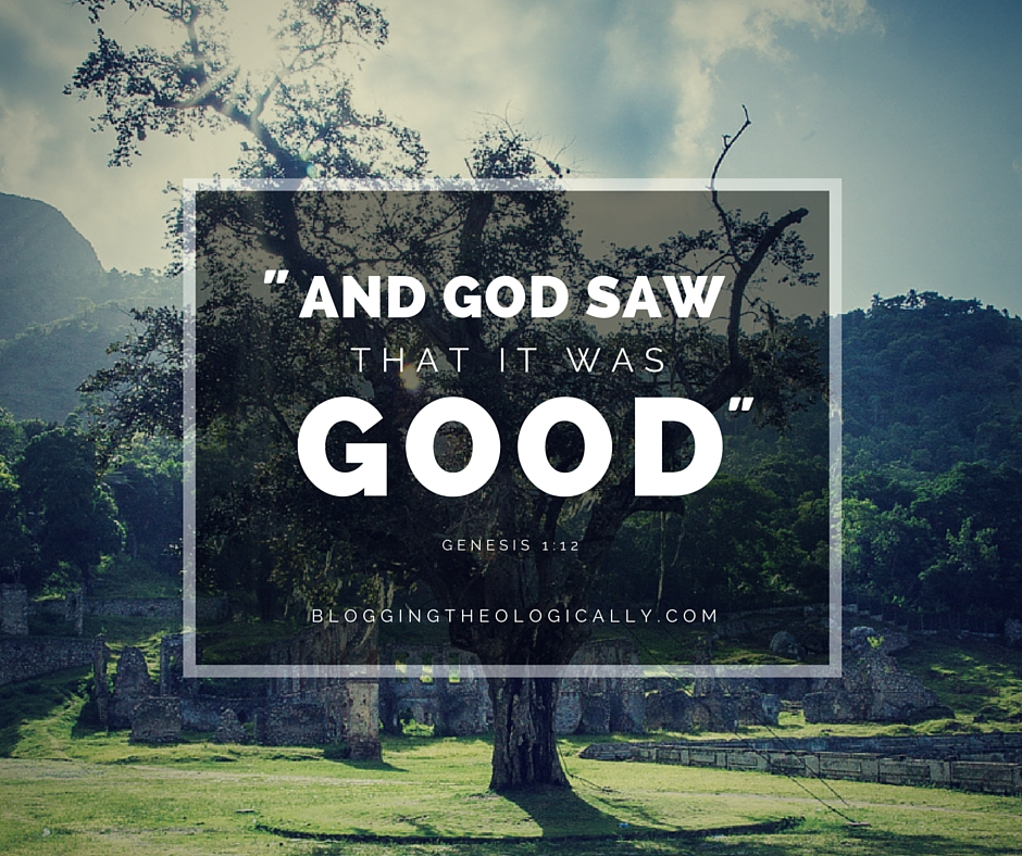 god-saw-good