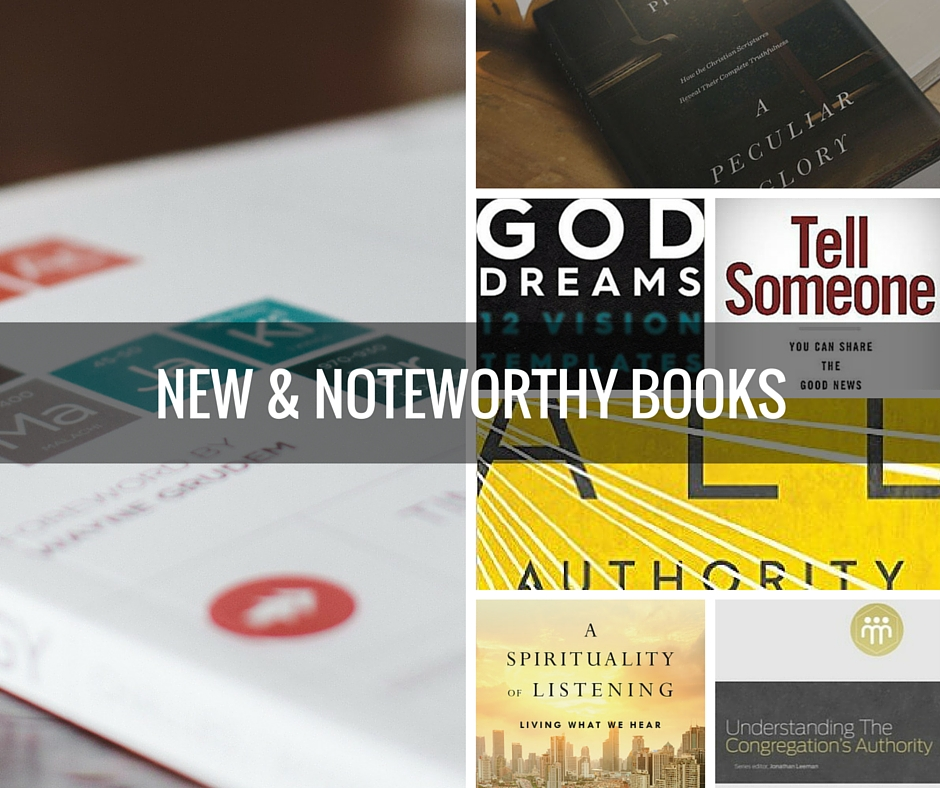 new and noteworthy books I received in March 2016