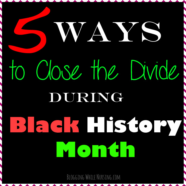 Closing The Divide During Black History Month