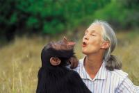 Dr. Jane Goodall (and friend)