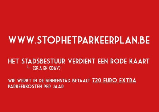 Stopparkeerplan