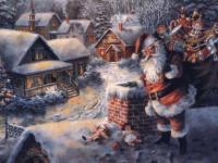 Musique de Noël : Up on the Housetop