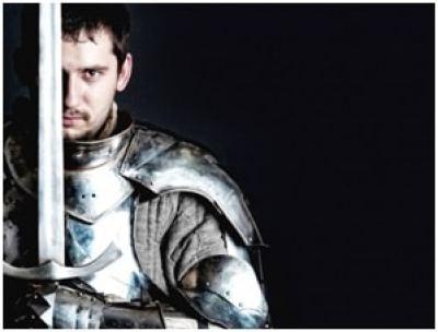 trening średniowiecznej walki